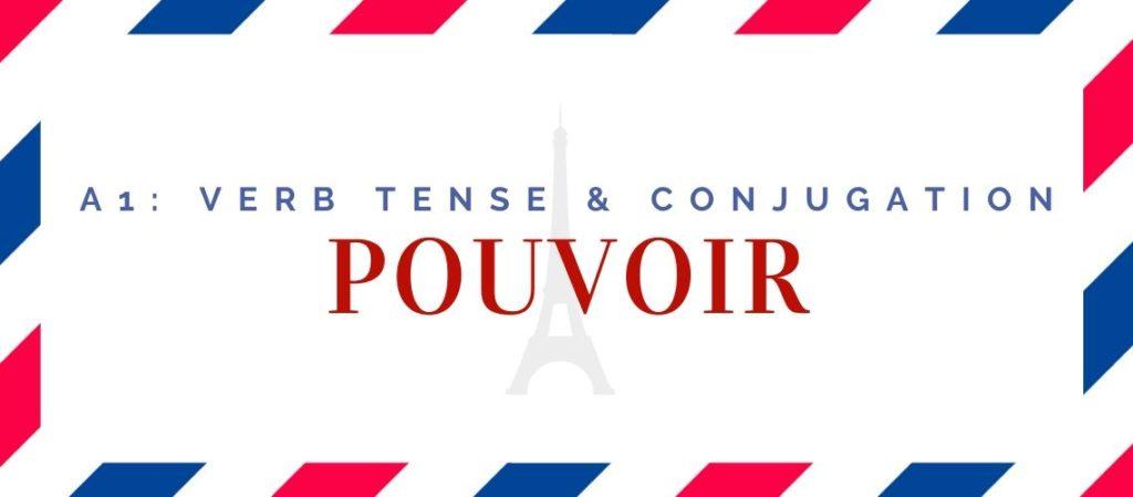 pouvoir conjugation in the present tense