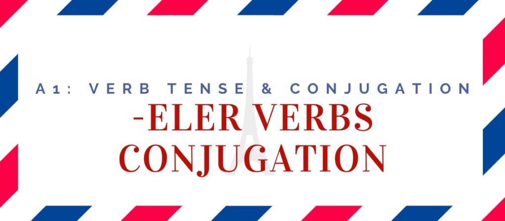 -eler verbs conjugation