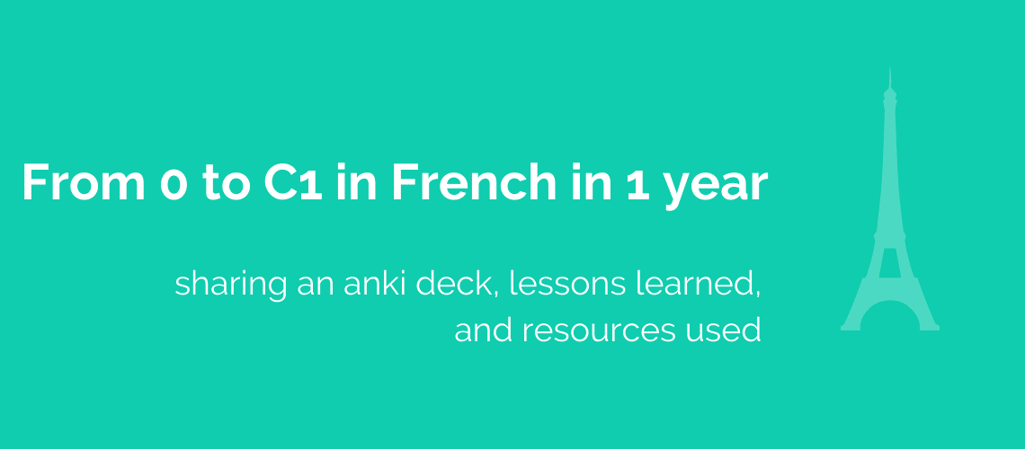 0 to C1 in French in 1 Year HD