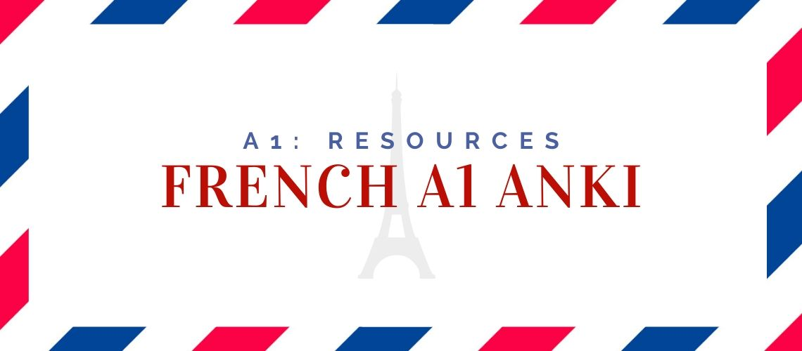 French A1 Anki