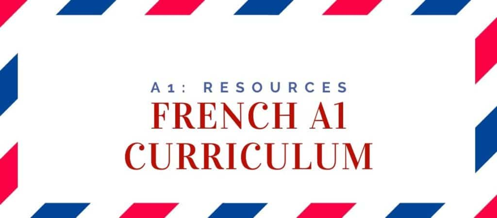 French_A1_Curriculum
