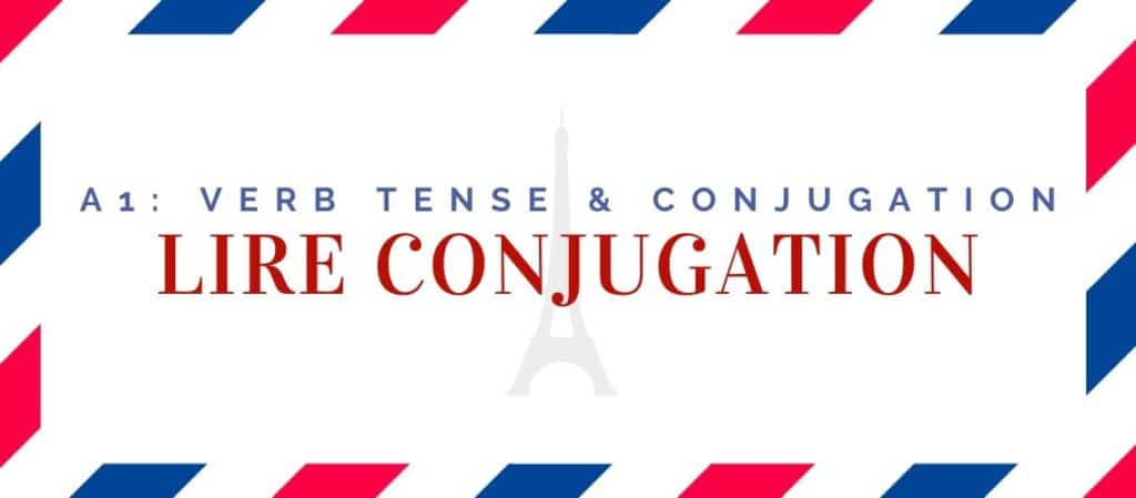 lire conjugation in the present tense
