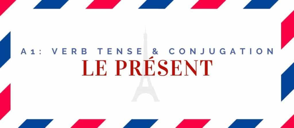 when to use le présent