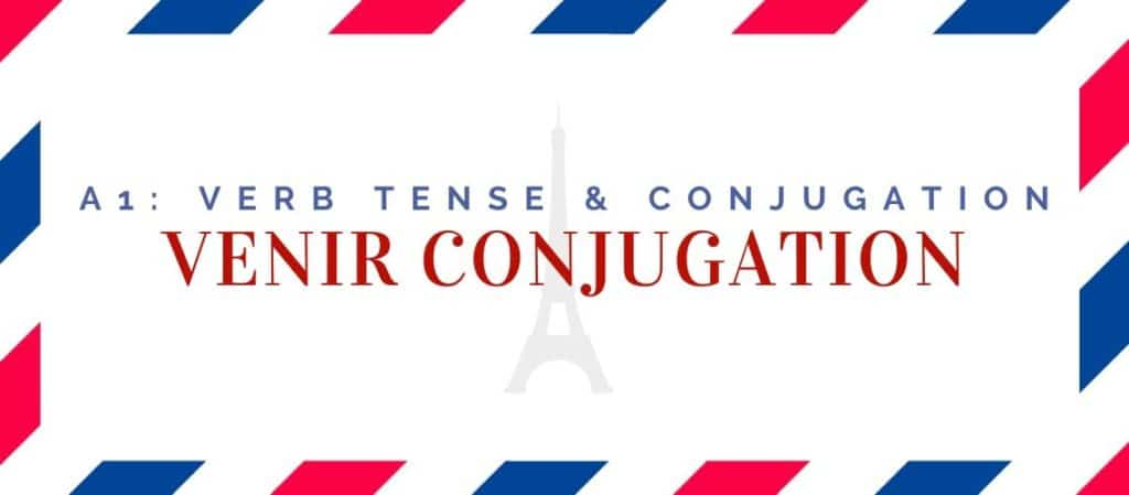 venir conjugation in the present tense