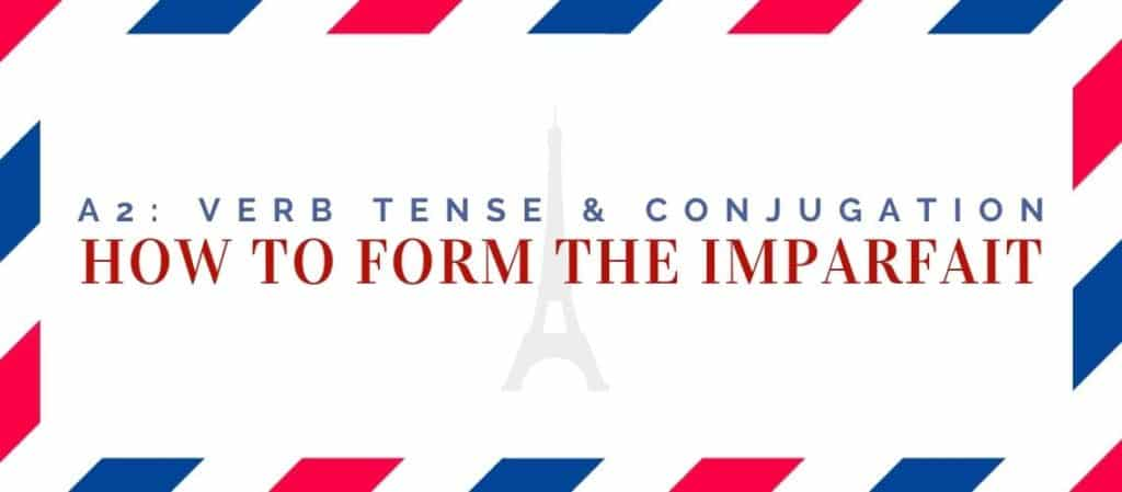 how to form the imparfait
