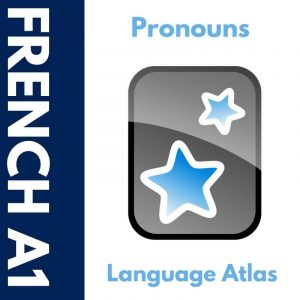 French A1 Pronouns Anki Deck Cover