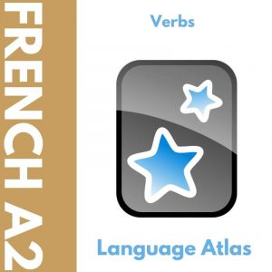 French A2 Verbs Anki Deck Cover