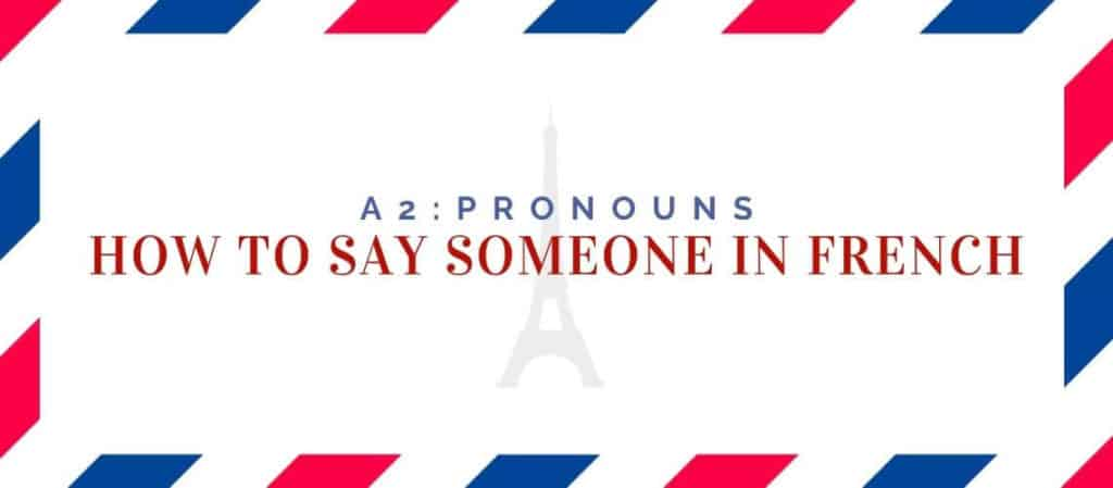 How to say The Other One in French