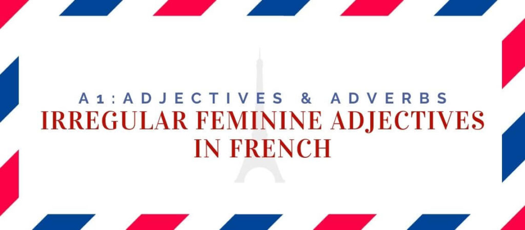 Irregular Feminine Adjectives in French