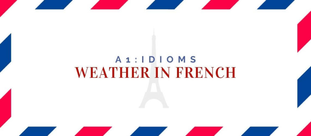 weather in french
