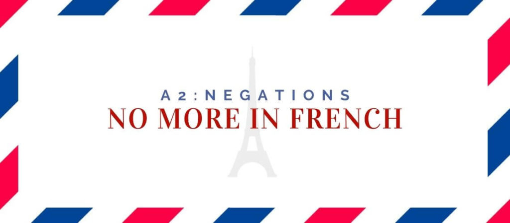 no more in french
