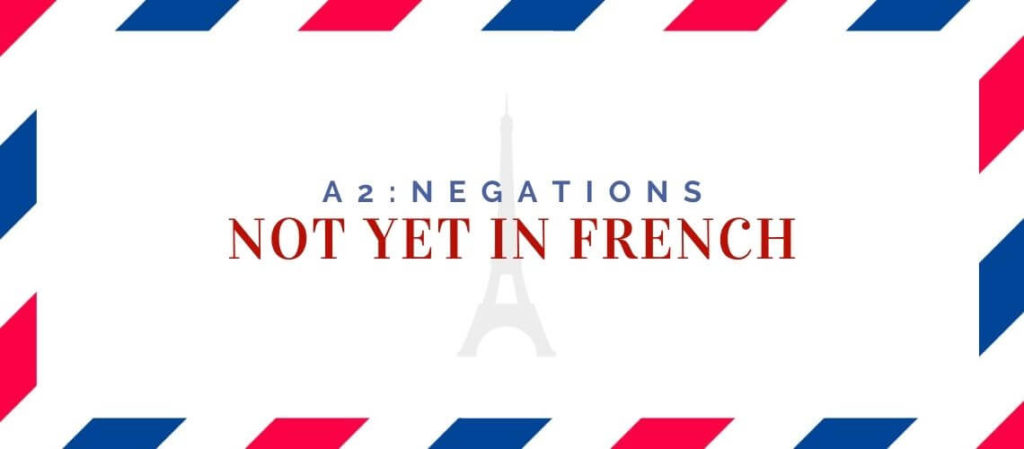 not yet in french