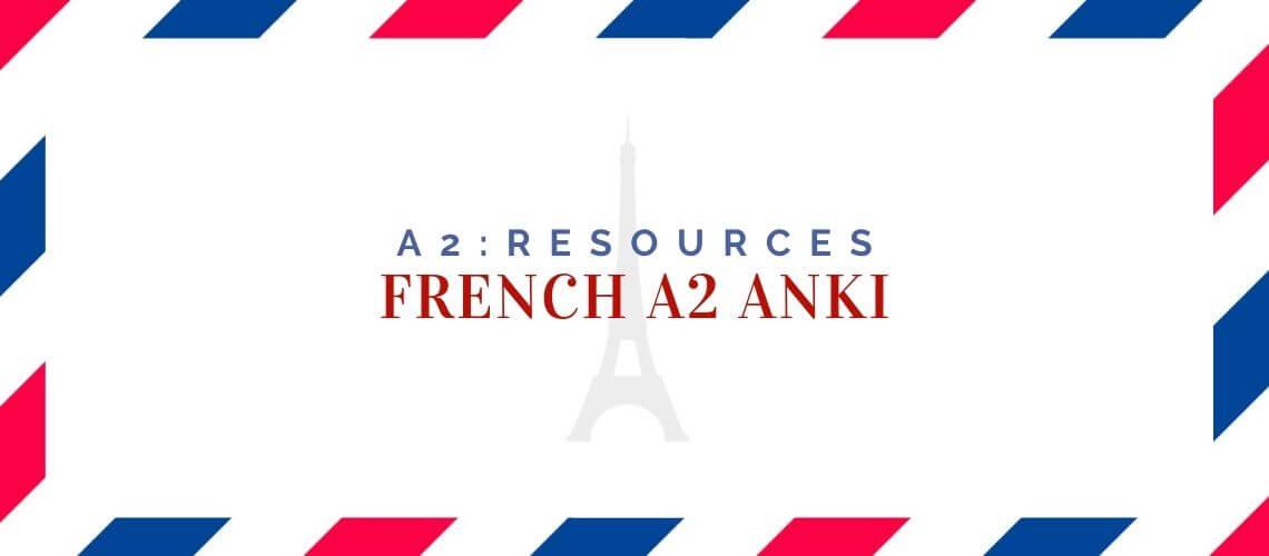 French A2 Anki