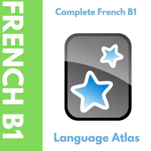 Complete French B1 Anki Deck Cover