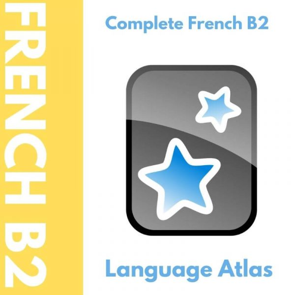 Complete French B2 Anki Deck Cover