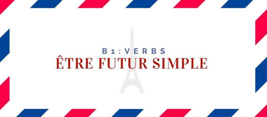 Être futur simple