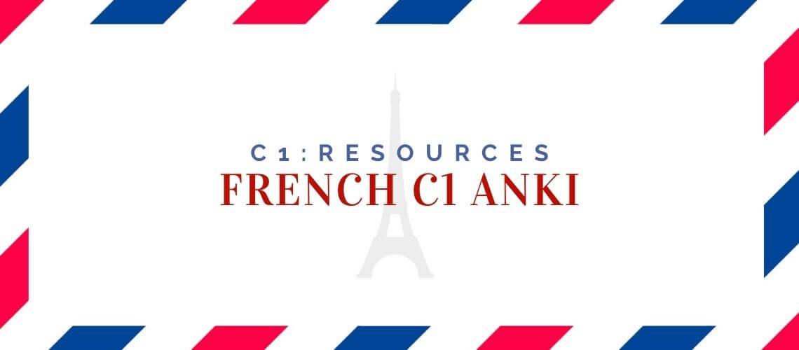 French C1 Anki