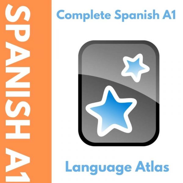 Spanish A1 Anki Deck Cover