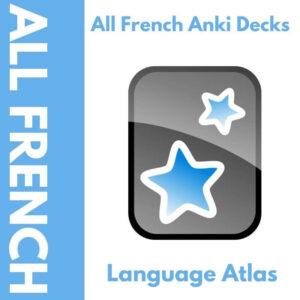All French Anki Decks