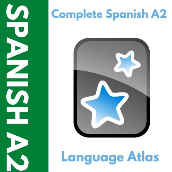 Complete Spanish A2 Anki Deck Cover