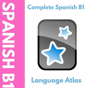 Complete Spanish B1 Anki Deck Cover