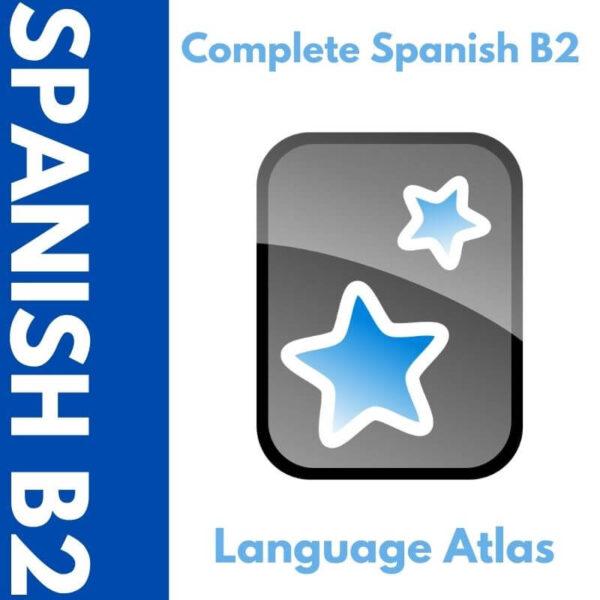 Complete Spanish B2 Anki Deck Cover