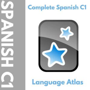 Complete Spanish C1 Anki Deck Cover