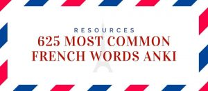 625-Most-Common-French-Words-Anki