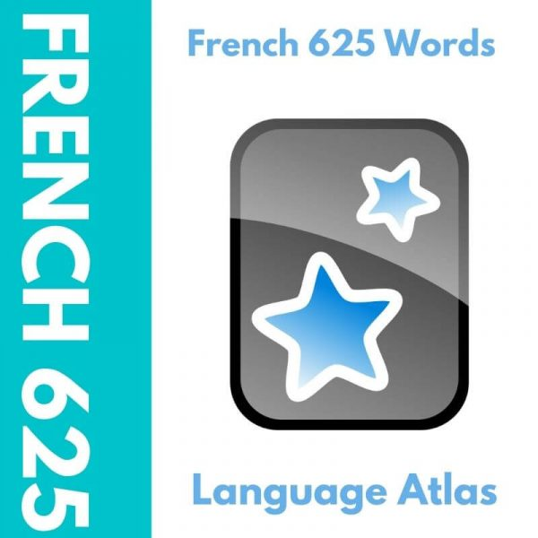 French 625 Most Common Words Anki Deck Cover