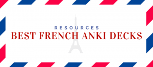 Best French Anki Decks